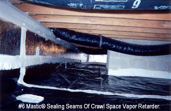 6 Mastic 174 Fibered Air Duct Sealant