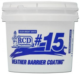 #15 Weather Barrier Coating® - 1 gallon pail