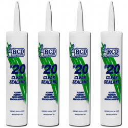 #20 Clear Sealant® Caulk Tubes