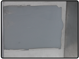 #5 Ductliner Adhesive® Applied to Sheet Metal